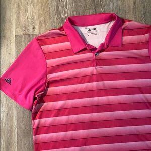 Adidas polo shirt men's size large